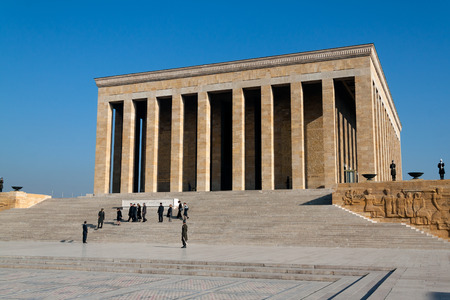 ataturk: Ataturk Mausoleum, Anitkabir, memorial tomb