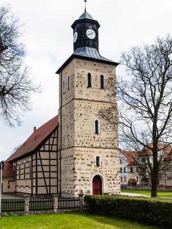 Church in Pisz Town, Poland. The Baptist XVIIth century temple