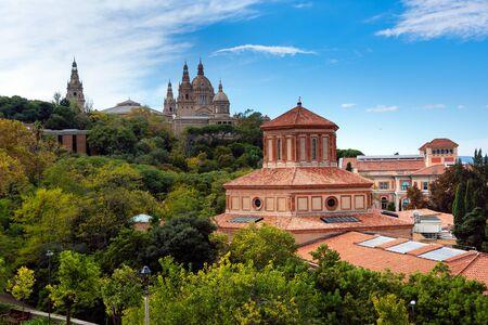 barcelone: Barcelone, mus�e d'arch�ologie et Mus�e d'art
