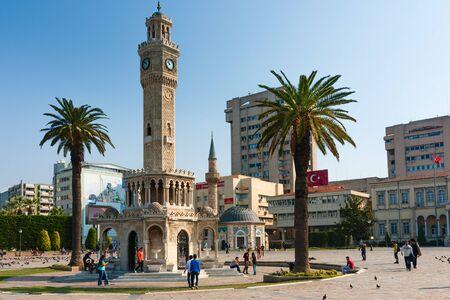Konak Square, Clock Tower, symbol of Izmir