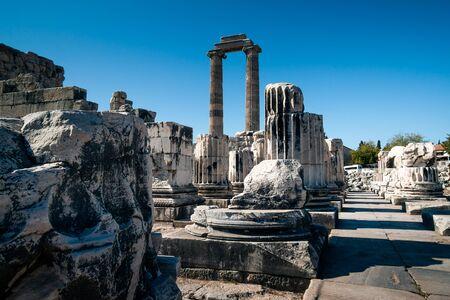 Temple of Apollo in Didim, Aydin in Turkey