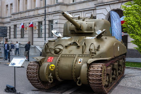 M4 Sherman tank Editorial