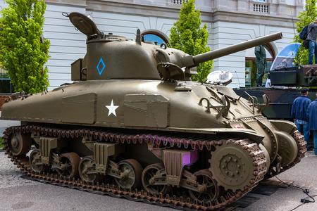 M4 Sherman tank Canadian version