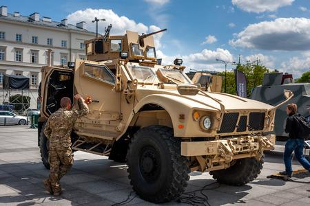 Oshkosh MATV mineresistant vehicle