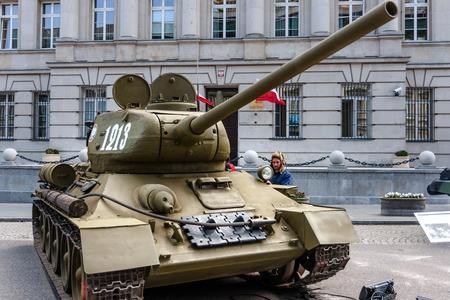 Soviet T34 85 tank Editorial