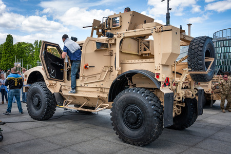 off road: Oshkosh MATV ambush protected off road vehicle Editorial