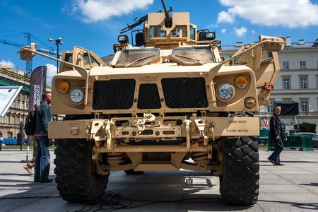 Military Oshkosh MATV MineResistant  Vehicle