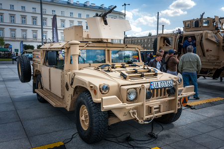 capacity: HMMWV m1165 expanded capacity military vehicle