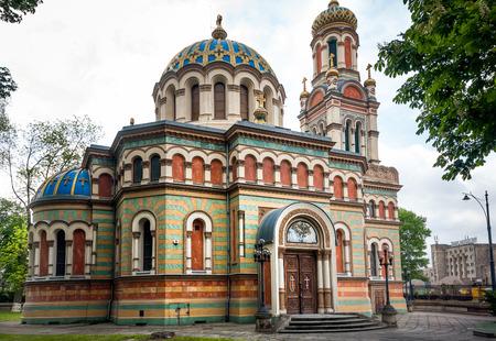 Alexander Nevsky Cathedral in Lodz Poland. XIXth century