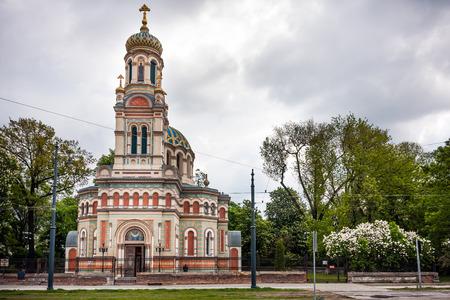 Cathedral of Alexander Nevsky in Lodz Poland