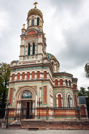 alexander: Orthodox Cathedral in Lodz City. Alexander Nevsky Church
