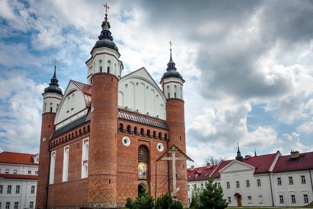 Defensive Orthodox Monastery Suprasl Church Stock Photo