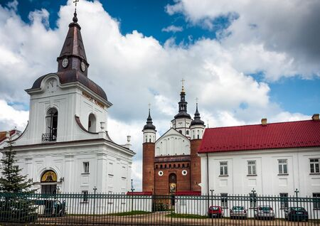 Suprasl bell tower and Orthodox Church Monastery