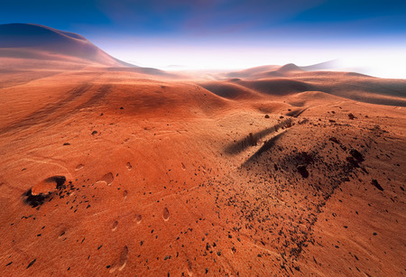 atmosfera: Superficie de Marte