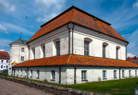 built in: Tiktin Synagogue, built in 1642 Jewish temple