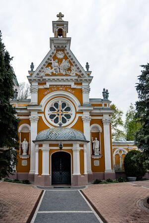 Church of S.Felix de Valois, chapel in Guzow Stock Photo - 55125743
