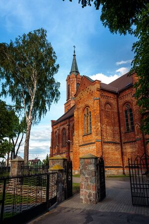 Sniadowo Village, Poland.  Church