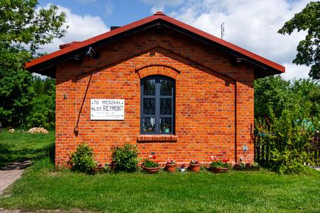 lived here: Lipce Reymontowskie Village, Lineman House, Wladyslaw Reymont lived here,