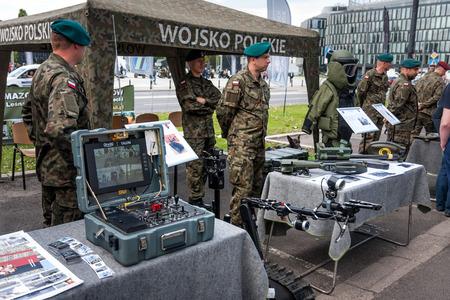 talon: Robot TALON vehicle, control board. Warsaw City