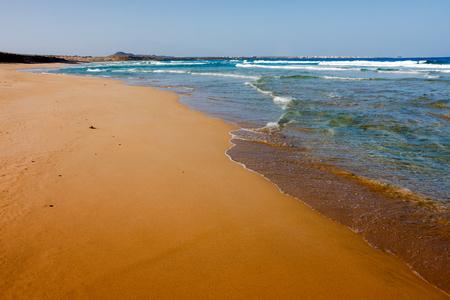 Praia Grande beach, Cape Verde, Africa