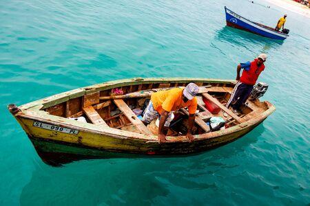 Fishermen of Cape Verde, Africa