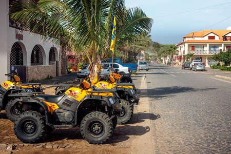 santa maria: ATV  Quads at the Quad Rental. Cape Verde, Santa Maria