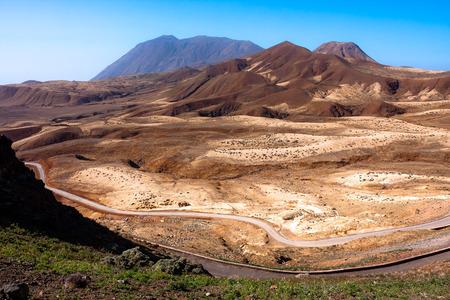 da: Santo Antao, Topo da Coroa region mountains Stock Photo