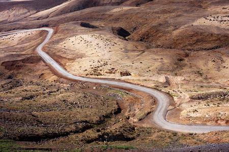 Cape Verde desert roads