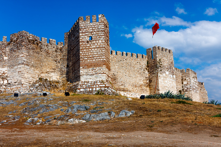 Selcuk Castle, the Ayasoluk hill in Turkey Stock Photo