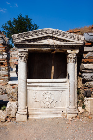 cubby: Part of the Basilica of St. John in Selcuk Stock Photo