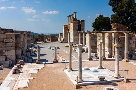 Tomb of Saint John the apostle in Selcuk  Ephesus
