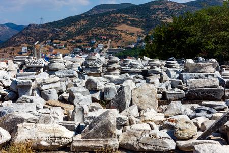 Ruins in Selcuk / Ephesus. Turkey