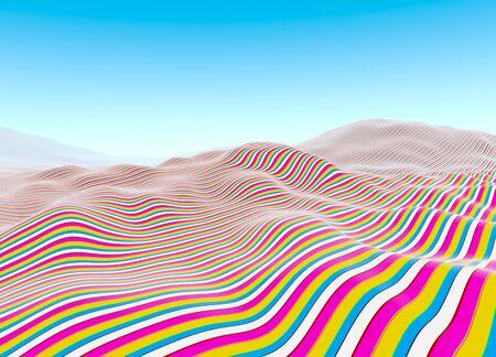 Linear landscape