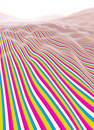 Colorful lines stripes Stock Photo