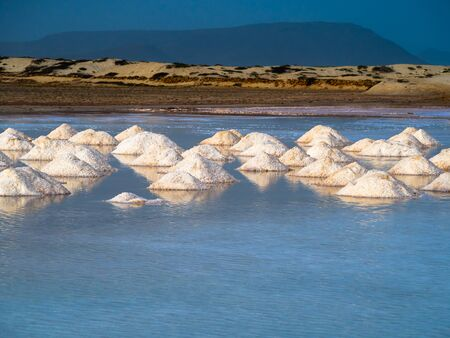 Salt evaporation, Cape Verde, Sal Island