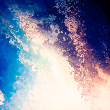 Light splash blue sky clouds abstract background