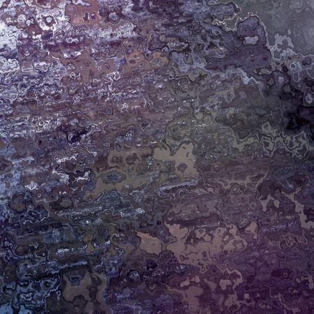 Zwarte asfalt of teervlek op een vloer