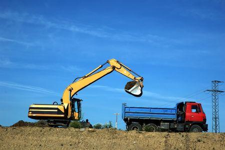 displacement: construction site