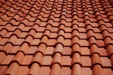 rooftile: red roof tiles
