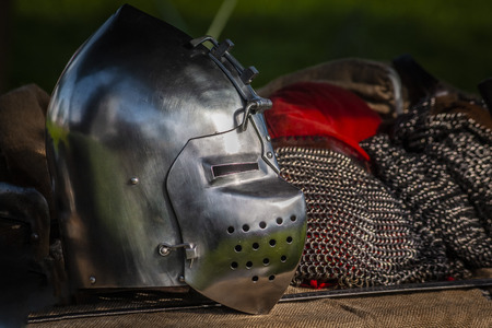 Medieval armors and weapons
