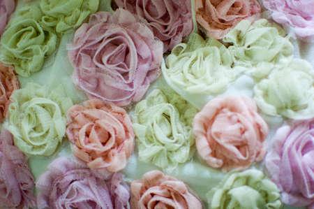 them: flower with pastel them