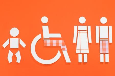 excreta: Toilet label