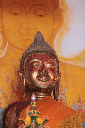 yai: Immagine del Buddha Pra Yai Pau Bang Archivio Fotografico