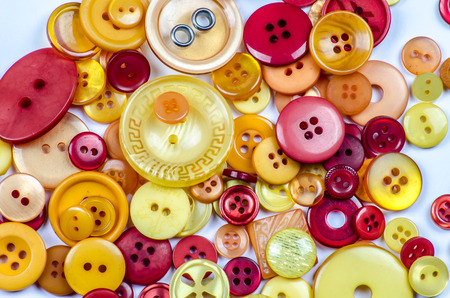 Collection of buttons Stock Photo