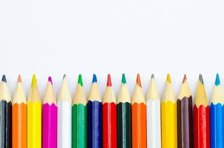 Colour pencils 스톡 콘텐츠