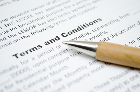 legal office: Terms and conditions