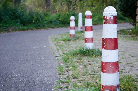 Street pillar Stock Photo