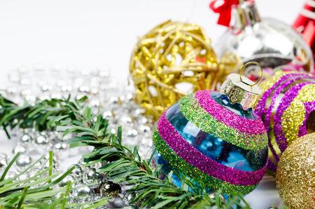 christmas balls 스톡 콘텐츠