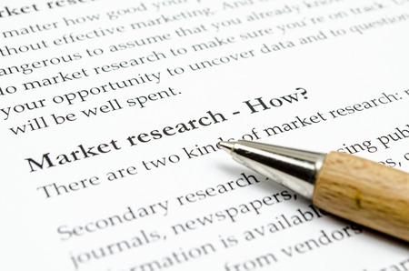 market research 스톡 콘텐츠