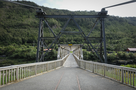Brunner Mine Heritage bridge
